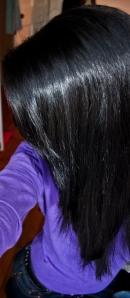 shiny healthy hair from naked cosmetics